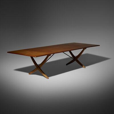 Hans Jørgensen Wegner, 'drop-leaf dining table', c. 1960