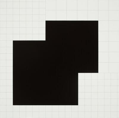 Attila Kovács, 'koordination eines quadrats ', 1972