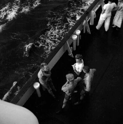 Vivian Maier, 'VM1959W02440 – Untitled,1959 Men on Ship Deck', Printed 2017