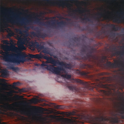 Eliot Porter, 'Sunset Clouds, Tesuque, New Mexico, Summer 1960', 1960