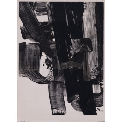 Pierre Soulages, 'Lithographie n°20 a', 1969