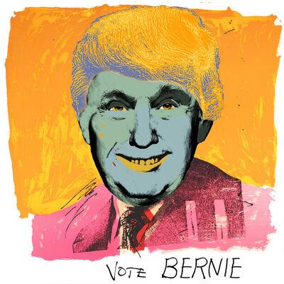 RJ Berman, 'Vote Bernie', 2016