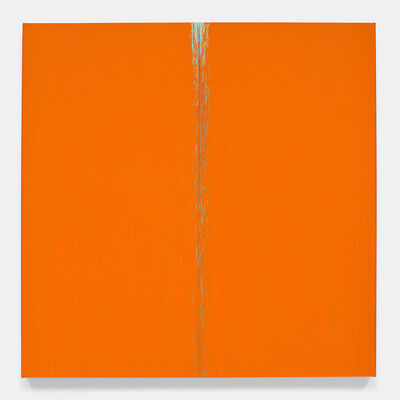 Pat Steir, 'Orange for Hong Kong', 2017-2018