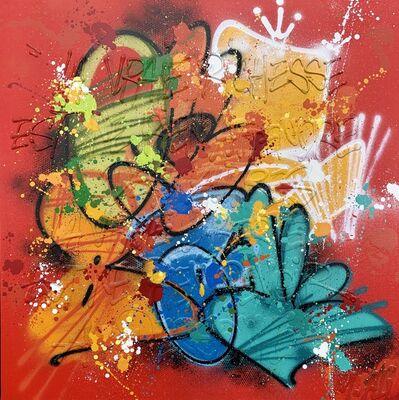 NEBAY, 'La vraie richesse est ne rien attendre des autres, la vraie liberté est de ne rien devoir à personne (Mohamed Ali) (True wealth is to expect nothing from others, true freedom is to owe nothing to anyone (Mohamed Ali))', 2020