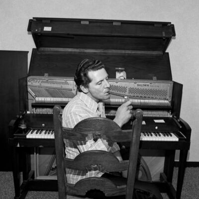 Henry Horenstein, 'Jerry Lee Lewis, Ramada Inn, Boston, Massachusetts', 1976