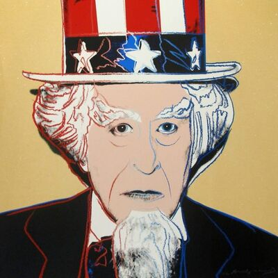 Andy Warhol, 'Uncle Sam from Myths (FS II. 259)', 1981