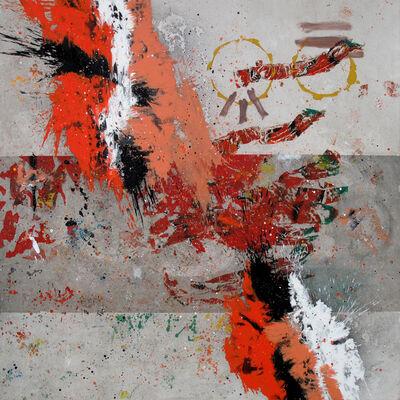 Jose M. Ciria, 'A2 Mixed Poems I (Tríptico)', 2014