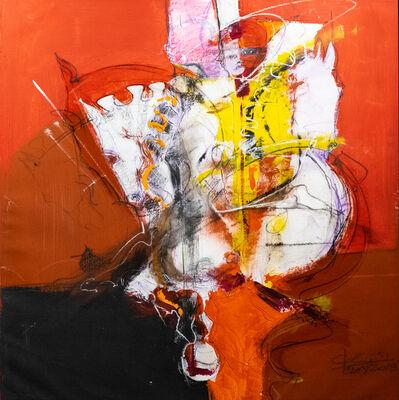 Eduardo Agelvis, 'Equus I Red', 2018