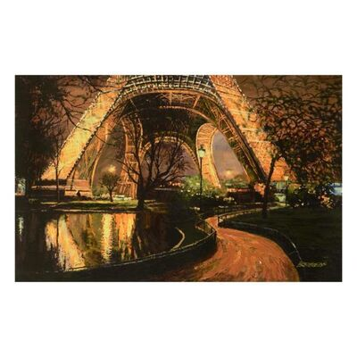 Howard Behrens, 'Twilight At The Eiffel Tower', 1990-2010
