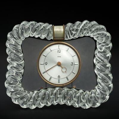 Venini, 'A 30s table clock', 1930s