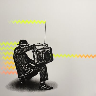 Nick Walker, 'Boombox Vandal', 2016