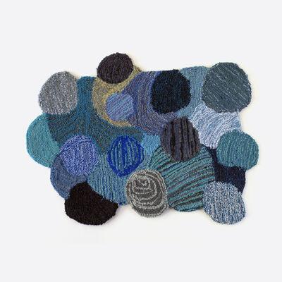 Valérie Gobeil, 'Bleu circulaire', 2019