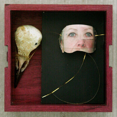 Bobbie Moline-Kramer, 'Bird in a Box, Unmasked', 2019