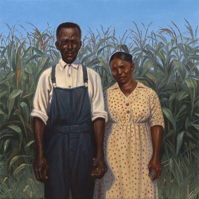 Kadir Nelson, 'Pap and Aunt Sarah', 2011