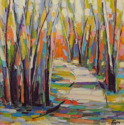 Peyton Hutchinson, 'Abstract Trees I', 2019
