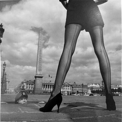 Jean-Daniel Lorieux, 'Céline hosiery, Place de la Concorde', 1990