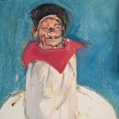 Judy Glantzman, 'Dawn's Clown', 2008