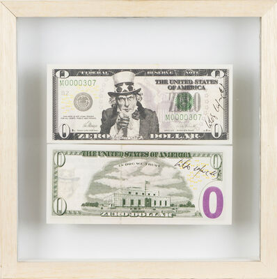 "Cildo Meireles, 'Zero Dollar, From ""Zero Dollars"" series (1978-84)'"