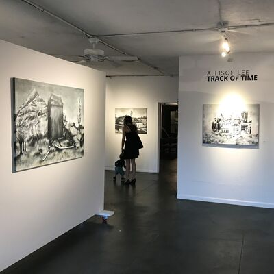 Allison Lee: Track of Time, installation view