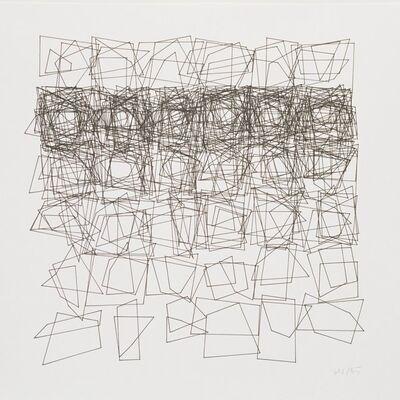Vera Molnar, 'Structures de quadrilateres', 1985