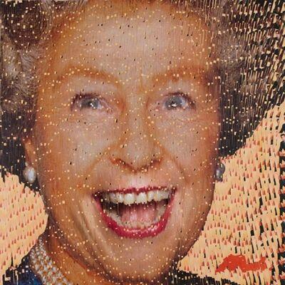 David Mach, 'Laughing Queen', 2008