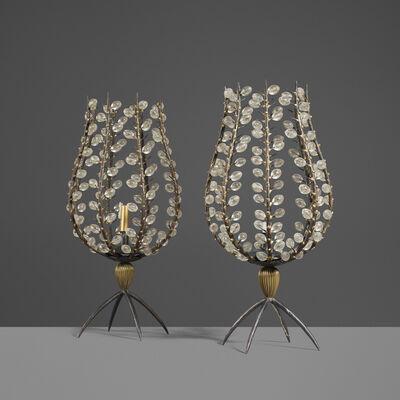André Dubreuil, 'Custom Perles Candleholders, Pair', 1998-99