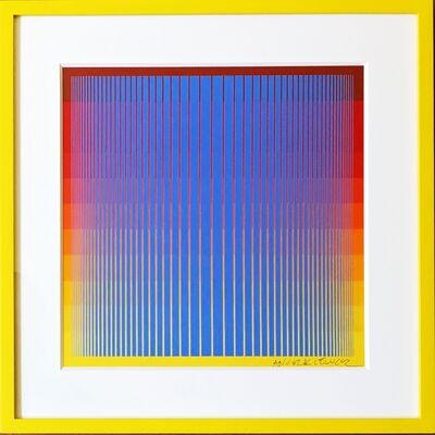 Richard Anuszkiewicz, 'Untitled Op Art Silkscreen', 1969