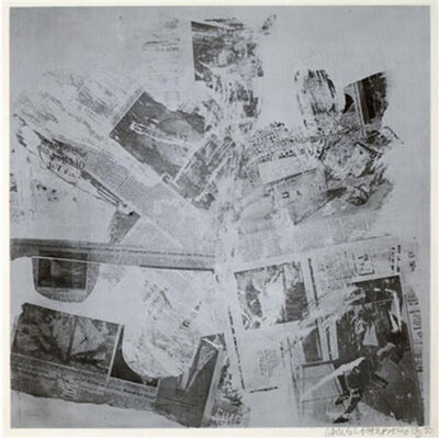 Robert Rauschenberg, 'Features From Currents #60', 1970