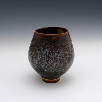Danucha Brikshavana, 'Til Dusk Vase - Tenmoku Gold', 2019