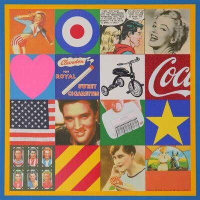 Peter Blake, 'Sources of Pop Art III', 2006