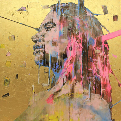 Marco Grassi, 'The Di-Gold Experience 150x150 cm', 2019
