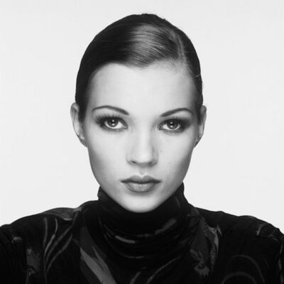 Terry O'Neill, 'Kate Moss Portrait 1993, Signed by Kate Moss and Terry O'Neill', 1993