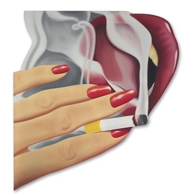 Tom Wesselmann, 'Smoker #22'
