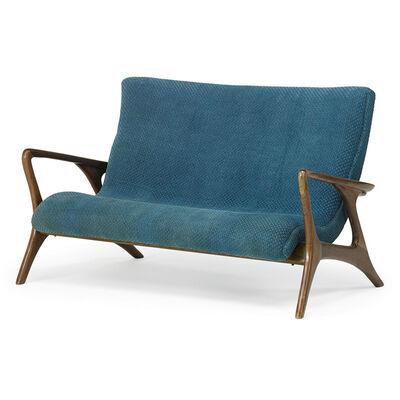 Vladimir Kagan, 'Contour loveseat/sofa, New York', 1950s