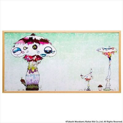 Takashi Murakami, ' HYPHA WILL COVER THE WORLD, LITTLE BY LITTLE', 2009