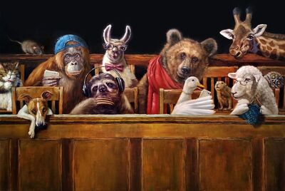 Lucia Heffernan, 'We the Jury', 2020
