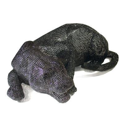 Nicola Bolla, 'Vanitas Black Panther', 2002