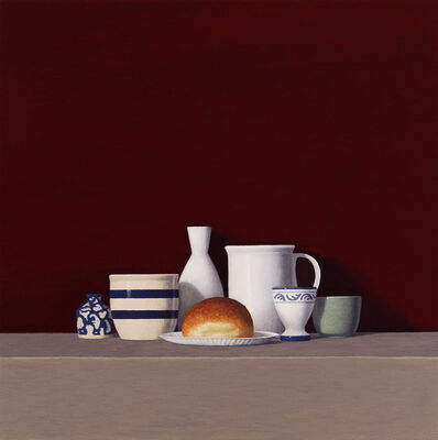 David Harrison, 'Still Life with Roll', 2013