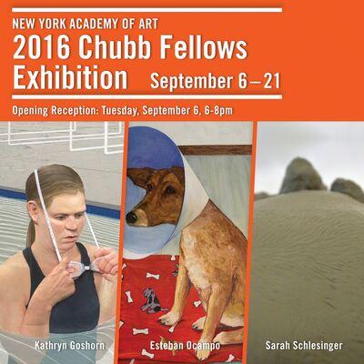 New York Academy of Art 2016 Chubb Fellows Exhibition, installation view