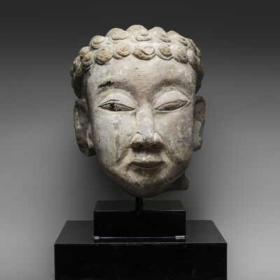Unknown Chinese, 'Stone Head of Buddha', 960 AD to 1279 AD