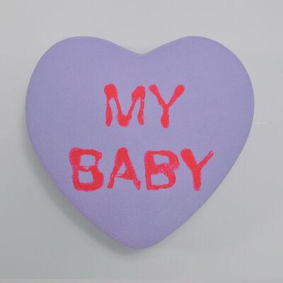 Peter Anton, 'MY BABY - Conversation Candies - Purple ', 2019