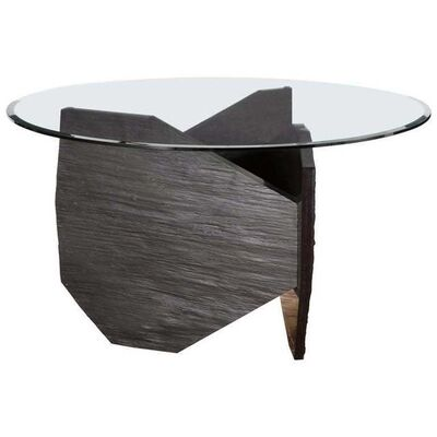 Frédéric Saulou, 'Marble Slate Dining Table Signed', 2019