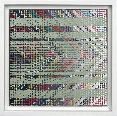 Nina Tichava, 'Chevron Study/Green ', 2019