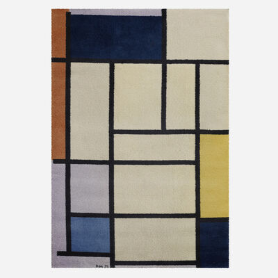 After Piet Mondrian, 'Composition with Red, Yellow and Blue carpet', 1921