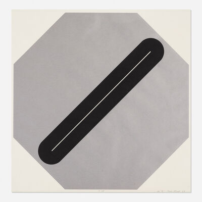 Tony Delap, 'E-35', 1968