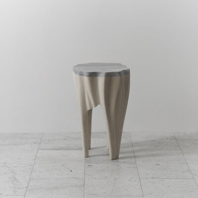 Markus Haase, 'Ash and Marble Side Table, USA', 2016