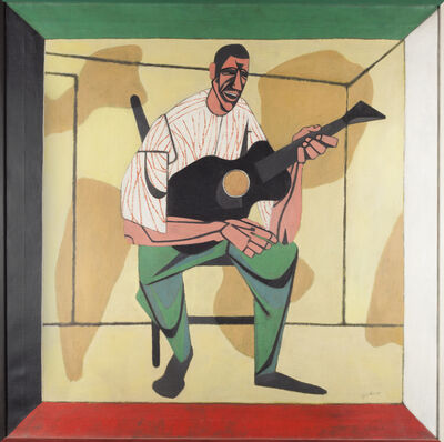 Robert Gwathmey, 'The Ballad Singer', 1939-1940