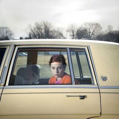 Cig Harvey, ' Pale Yellow Cadillac, Sadie, Portland, Maine', 2010