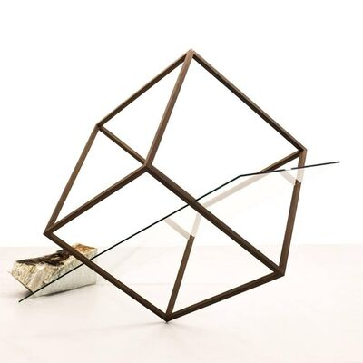 Túlio Pinto, 'Linha de Terra #9 (Glass)', 2017