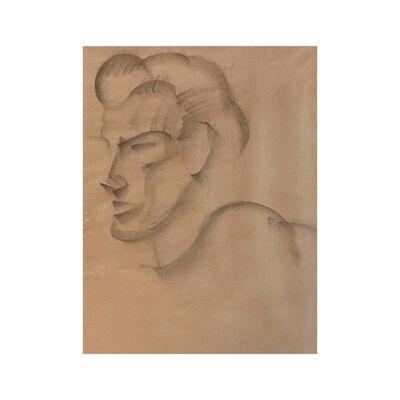 Juan Gris, 'The cubist head', 1916